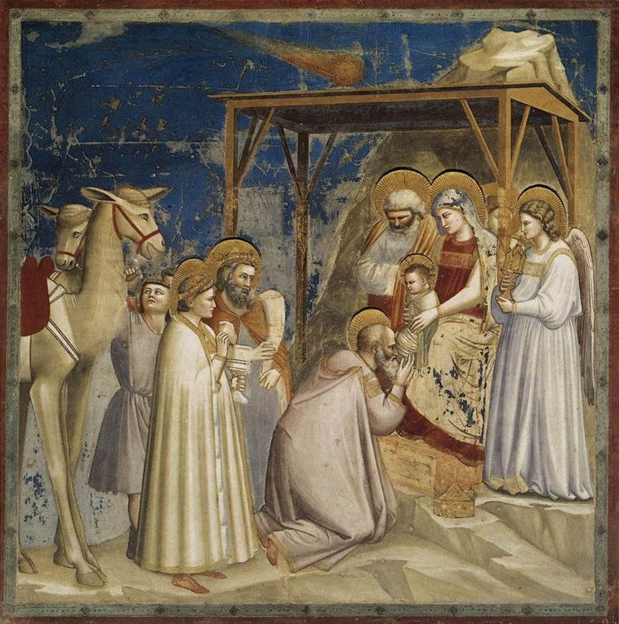 893px-Giotto_di_Bondone_-_No._18_Scenes_from_the_Life_of_Christ_-_2._Adoration_of_the_Magi_-_WGA09195